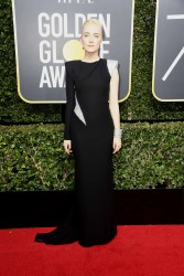 Saoirse Ronan - 75th Annual Golden Globe Awards in Beverly Hills 1/7/18