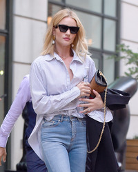 Rosie Huntington-Whiteley - Out in NYC 7/18/18