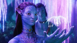 Аватар / Avatar (Сэм Уортингтон, Зои Салдана, Сигурни Уивер, 2009) 74582c1091452954