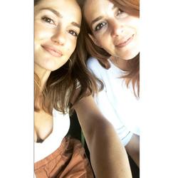 Minka Kelly With a Friend - 6/20/18 Instagram