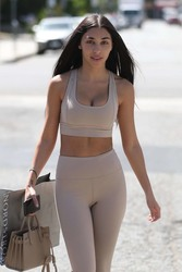 Chantel Jeffries - Shopping in West Hollywood 4/13/18