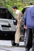 Kendall Jenner - Arriving at Khloe's baby shower in LA 3/10/18
