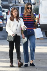 Jessica Alba - Shopping in Beverly Hills 12/21/18