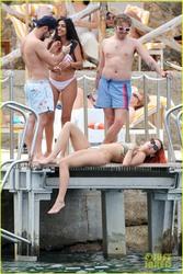 Rita Ora - Bikini candids in Tuscany 6/6/18