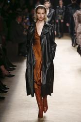 Hailey Clauson - Roberto Cavalli Fashion Show in Milan 2/23/18