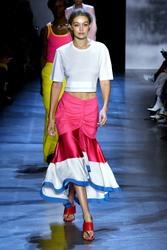 Gigi Hadid - Prabal Gurung Fashion Show in NYC 9/9/18