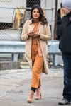 Priyanka Chopra  -      ''Quantico'' Set New York City March 12th 2018.
