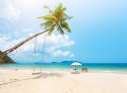 Тропический остров и пляж / Beautiful tropical island and beach 759b301190120534
