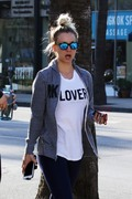 Kaley Cuoco - Leaving the gym in LA 4/11/18