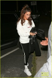 Selena Gomez - Arriving at a studio in LA 2/22/18