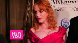 Christina Hendricks - New You Interview at The Art of Elysium's 9th Annual Heaven Gala in Culver City, California - January 9, 2016