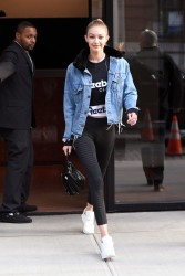 Gigi Hadid - Leaving her apartment in NYC 1/19/18