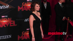 Milana Vayntrub - Red Carpet Video From The Captain Marvel Premiere in Hollywood - 3/4/19