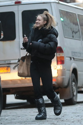 Gigi Hadid - Going to a photoshoot in NYC 3/13/19