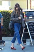 Dakota Johnson - Out for lunch in LA 5/17/18