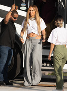 Jennifer Lopez - On set of a music video in Miami 11/15/18