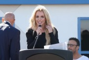 Britney Spears -            	Nevada Childhood Cancer Foundation Britney Spears Campus Grand Opening Las Vegas November 4th 2017.