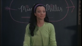 "Fran Drescher in tight purple pants from ""Beautician and the Beast"" caps (x20)"