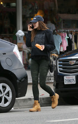 Elizabeth Olsen - Out in LA 3/11/18