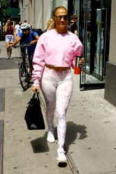 Jennifer Lopez - Attending rehearsals in NYC 8/3/18
