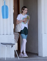 Emma Roberts - Out in LA 9/18/18