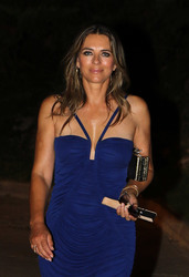 Elizabeth Hurley - Out in Spain 7/27/18
