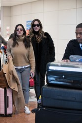 Kate Beckinsale - At Charles de Gaulle Airport 1/21/19