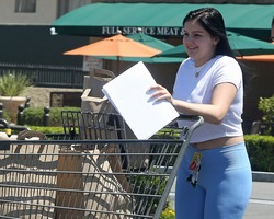 Ariel Winter Grocery Shopping in Los Angeles - 6/28/18