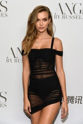 """Josephine Skriver - """"ANGELS"""" By Russell James Book Launch And Exhibit in NYC 9/6/2018 08d3f6967292894"""