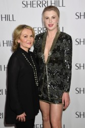 Ireland Baldwin - Sheri Hill Fashion Show in NYC 2/9/18