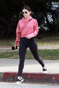 Lucy Hale - Out for lunch in Studio City 4/4/19