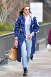 Gigi Hadid - Out in NYC 2/3/19