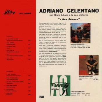Adriano Celentano - A New Orleans (1963) .mp3 -320 Kbps