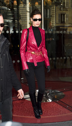 Bella Hadid - Out in Paris 3/3/18