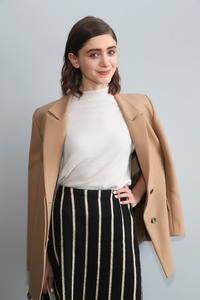 Natalia Dyer - Noon By Noor Fashion Show in NYC 2/7/19
