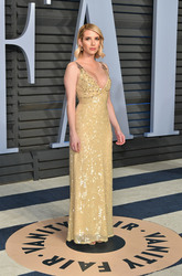 Emma Roberts - 2018 Vanity Fair Oscar Party 3/4/18