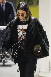 Vanessa Hudgens - At LAX Airport 10/27/17