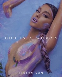 "Ariana Grande - Naked Body Paint - ""God Is A Woman"" (2018) Official Single Cover Art *ADDS*"