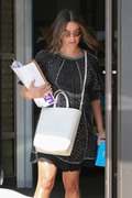Lea Michele - Shopping in West Hollywood 9/26/18
