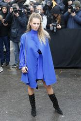 Dylan Penn - Valentino Fashion Show in Paris 3/4/18