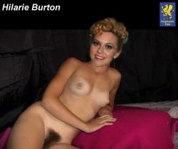 Burton  nackt Hilarie JENNIFER LAWRENCE
