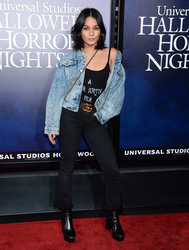 Vanessa Hudgens - Universal Studios Hollywood 'Halloween Horror Nights' opening night in LA 9/14/18