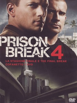 Prison Break - Stagione 4 (2010-2011) 6xDVD9 1xDVD5 COPIA 1:1 ITA ENG FRA