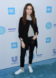 Lily Collins - 2018 We Day LA 4/19/18