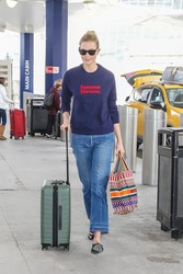 Karlie Kloss - At JFK Airport 3/16/18
