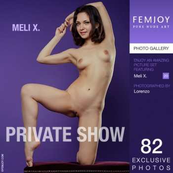 Meli X | Lily White Meli X - Private SHow