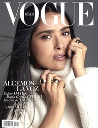 Salma Hayek -               Vogue Magazine (Mexico) November (2018).