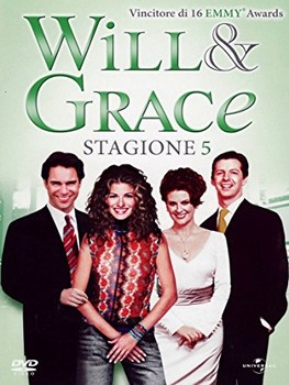 Will & Grace - Quinta stagione (1998-1999) 5 DVD9 COPIA 1:1 ITA ENG