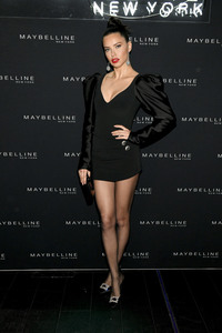 Adriana Lima - Maybelline New York Fashion Week Party 2/9/19