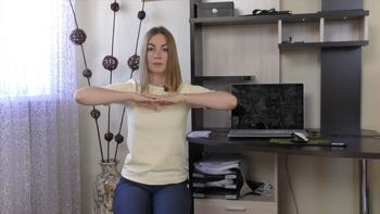 Снимаем усталость и напряжение с лица, шеи, плечей и позвоночника (2018) Видеокурс